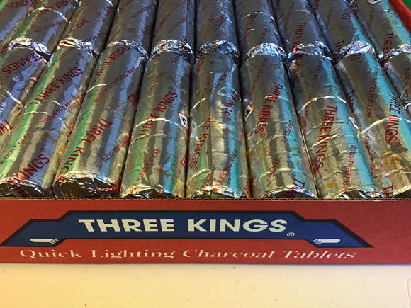 Three Kings Quick Lighting Charcoal
