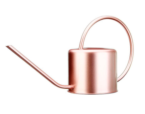 Metal 1300ml watering can (multiple colours)