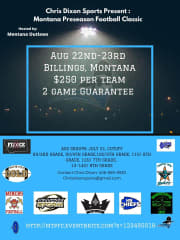 Sideline Showdown Series - Stop 1 (Montana)