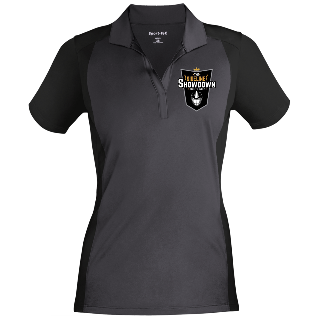 The Sideline Showdown Series Ladies' Colorblock Sport-Wick Polo