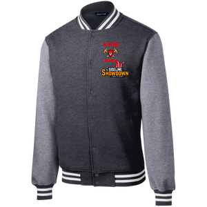 Miners Football at The Sideline Showdown Series Fleece Letterman Jacket