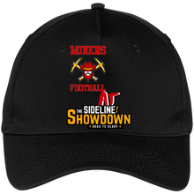 Load image into Gallery viewer, Miners Football at The Sideline Showdown Series Five Panel Twill Cap