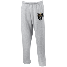 Load image into Gallery viewer, The Sideline Showdown Series Open Bottom Sweatpants with Pockets