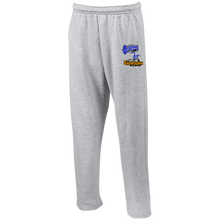 Load image into Gallery viewer, Montana Outlaws at The Sideline Showdown Series Open Bottom Sweatpants with Pockets