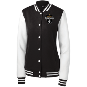 The Sideline Showdown Series Women's Fleece Letterman Jacket
