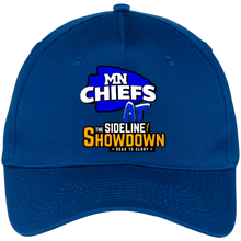 Load image into Gallery viewer, MN Chiefs at The Sideline Showdown Series Five Panel Twill Cap