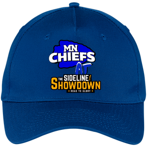 MN Chiefs at The Sideline Showdown Series Five Panel Twill Cap