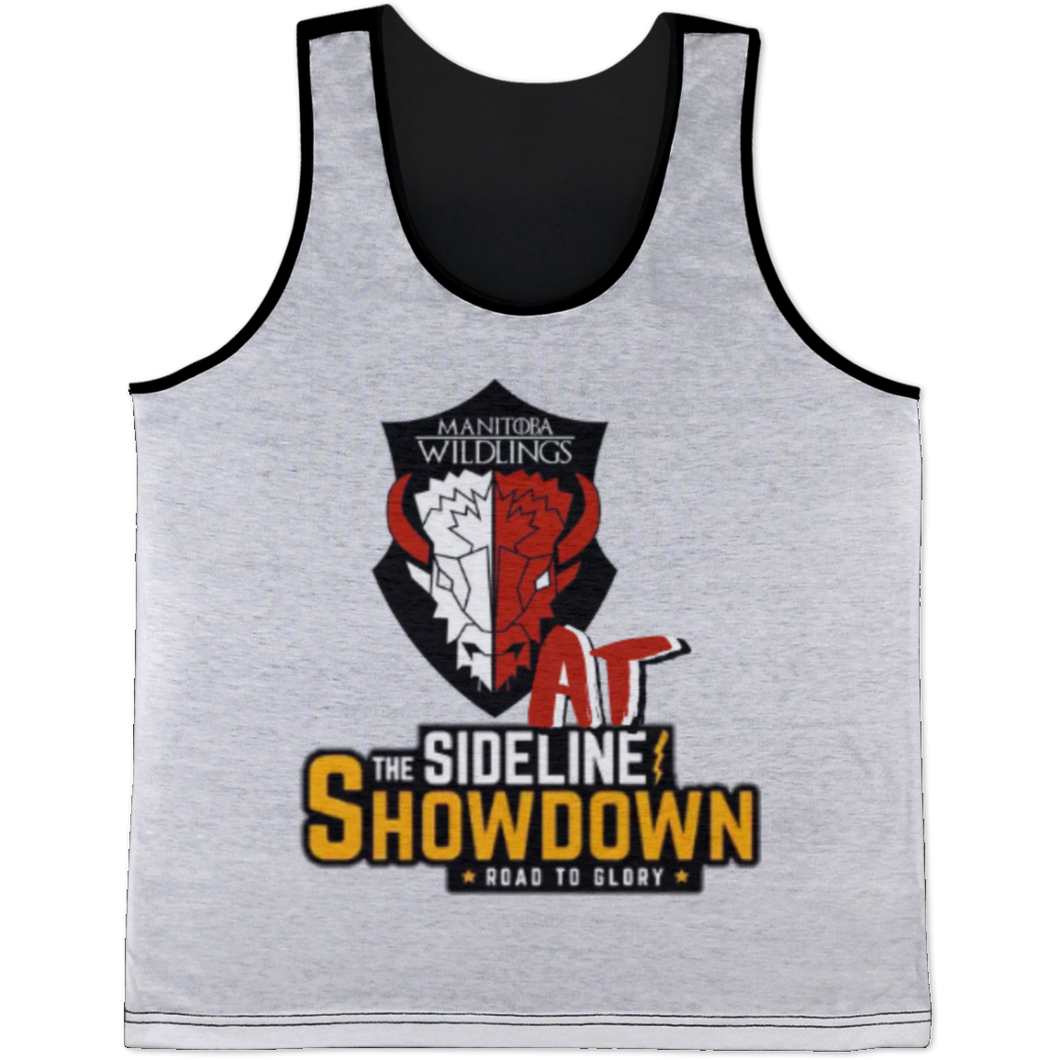 Manitoba Wildlings at The Sideline Showdown Series All Over Print Tank Top