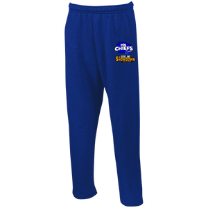MN Chiefs at The Sideline Showdown Series Open Bottom Sweatpants with Pockets