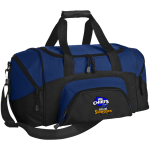 MN Chiefs at The Sideline Showdown Series Small Colorblock Sport Duffel Bag