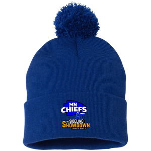 MN Chiefs at The Sideline Showdown Series Pom Pom Knit Cap