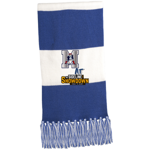 Omaha Patriots at The Sideline Showdown Series Fringed Scarf