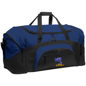 Montana Outlaws at The Sideline Showdown Series Colorblock Sport Duffel