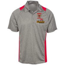 Load image into Gallery viewer, Miners Football at The Sideline Showdown Series Heather Moisture Wicking Polo