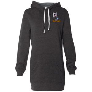 Omaha Patriots at The Sideline Showdown Series Women's Hooded Pullover Dress