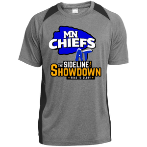 MN Chiefs at The Sideline Showdown Series  Youth Colorblock Performance T-Shirt