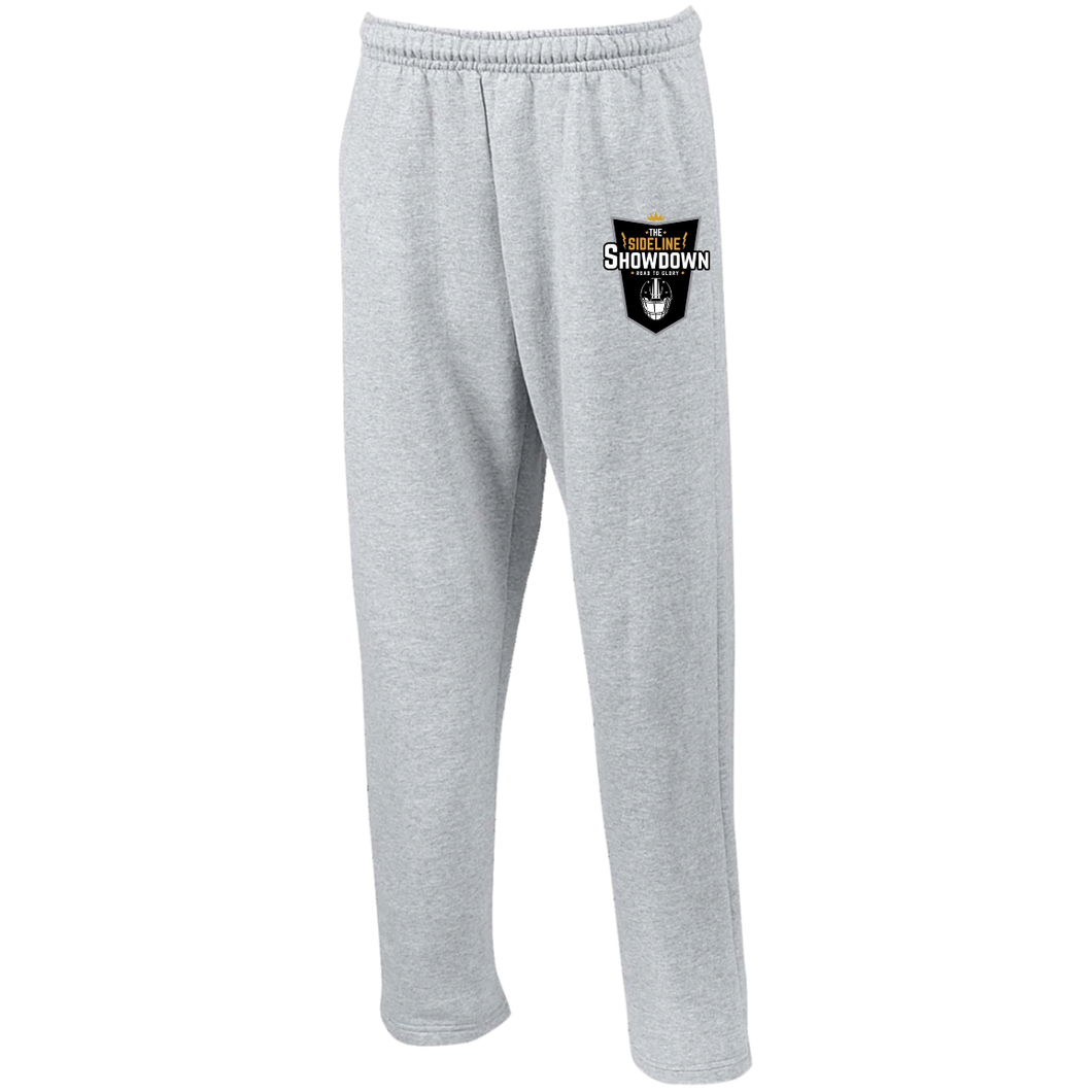 The Sideline Showdown Series Open Bottom Sweatpants with Pockets