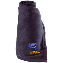 Load image into Gallery viewer, Montana Outlaws at The Sideline Showdown Series Large Fleece Blanket