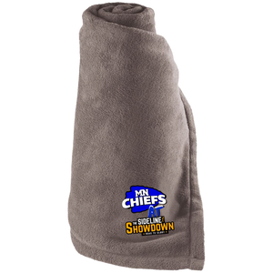MN Chiefs at The Sideline Showdown Series Large Fleece Blanket