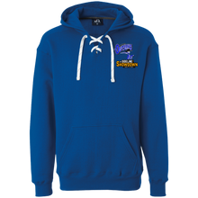 Load image into Gallery viewer, Montana Outlaws at The Sideline Showdown Series  Heavyweight Sport Lace Hoodie