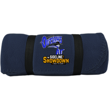 Load image into Gallery viewer, Montana Outlaws at The Sideline Showdown Series Fleece Blanket