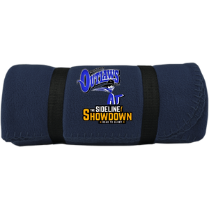 Montana Outlaws at The Sideline Showdown Series Fleece Blanket
