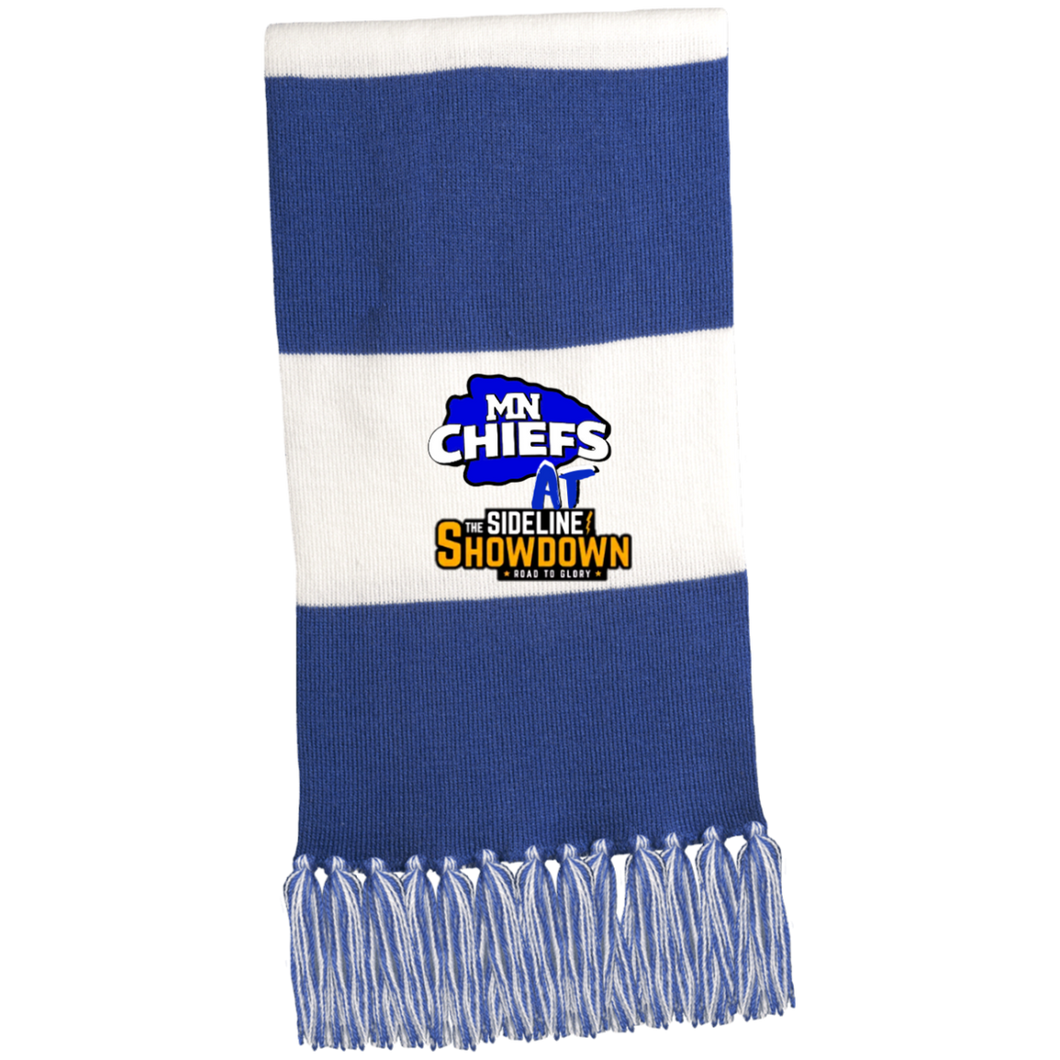 MN Chiefs at The Sideline Showdown Series Fringed Scarf