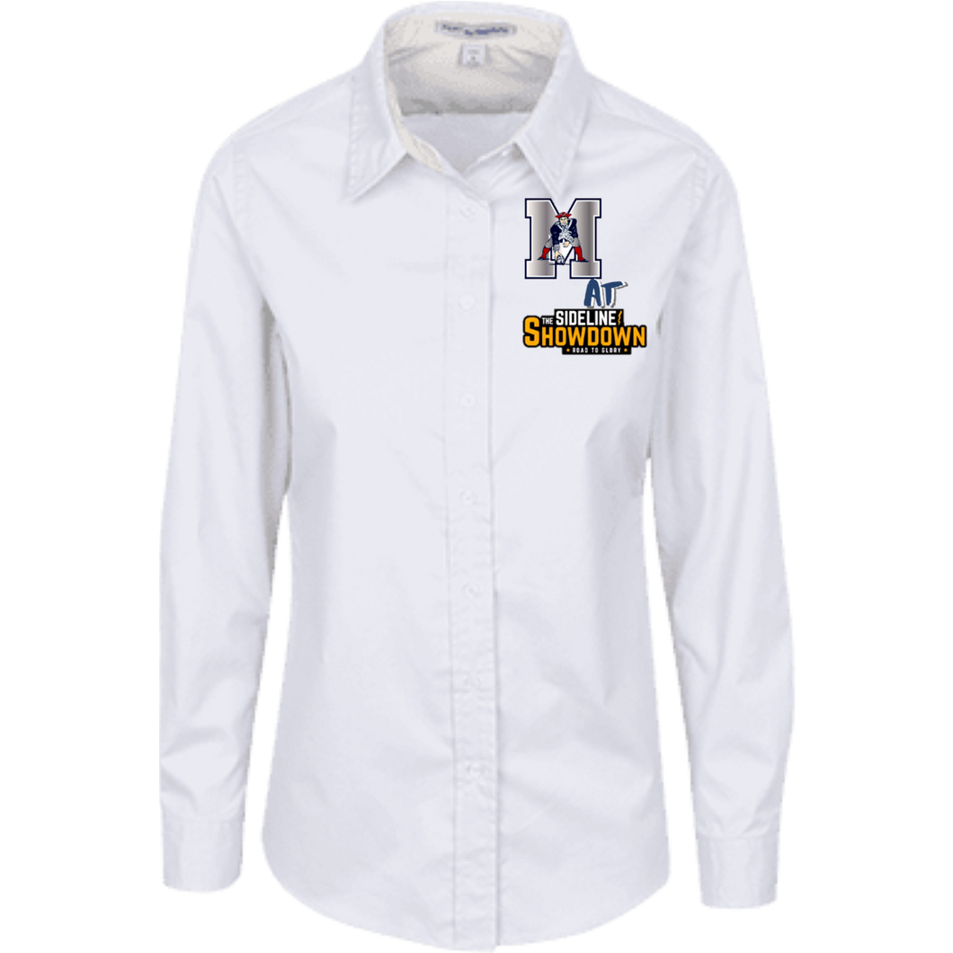Omaha Patriots at The Sideline Showdown Series Ladies' LS Blouse