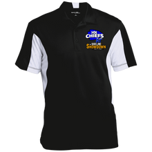Load image into Gallery viewer, MN Chiefs at The Sideline Showdown Series Men's Colorblock Performance Polo