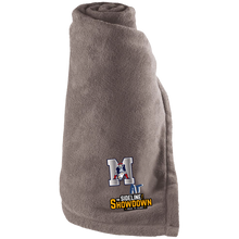 Load image into Gallery viewer, Omaha Patriots at The Sideline Showdown Series Large Fleece Blanket