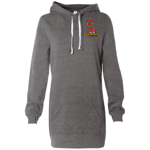 Miners Football at The Sideline Showdown Series Women's Hooded Pullover Dress