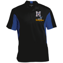 Load image into Gallery viewer, Omaha Patriots at The Sideline Showdown Series Men's Colorblock Performance Polo