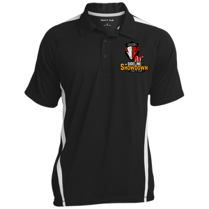 Manitoba Wildlings at The Sideline Showdown Series Men's Colorblock 3-Button Polo