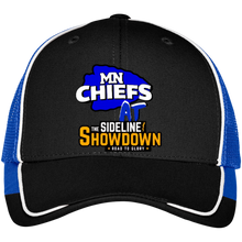Load image into Gallery viewer, MN Chiefs at The Sideline Showdown Series Colorblock Mesh Back Cap
