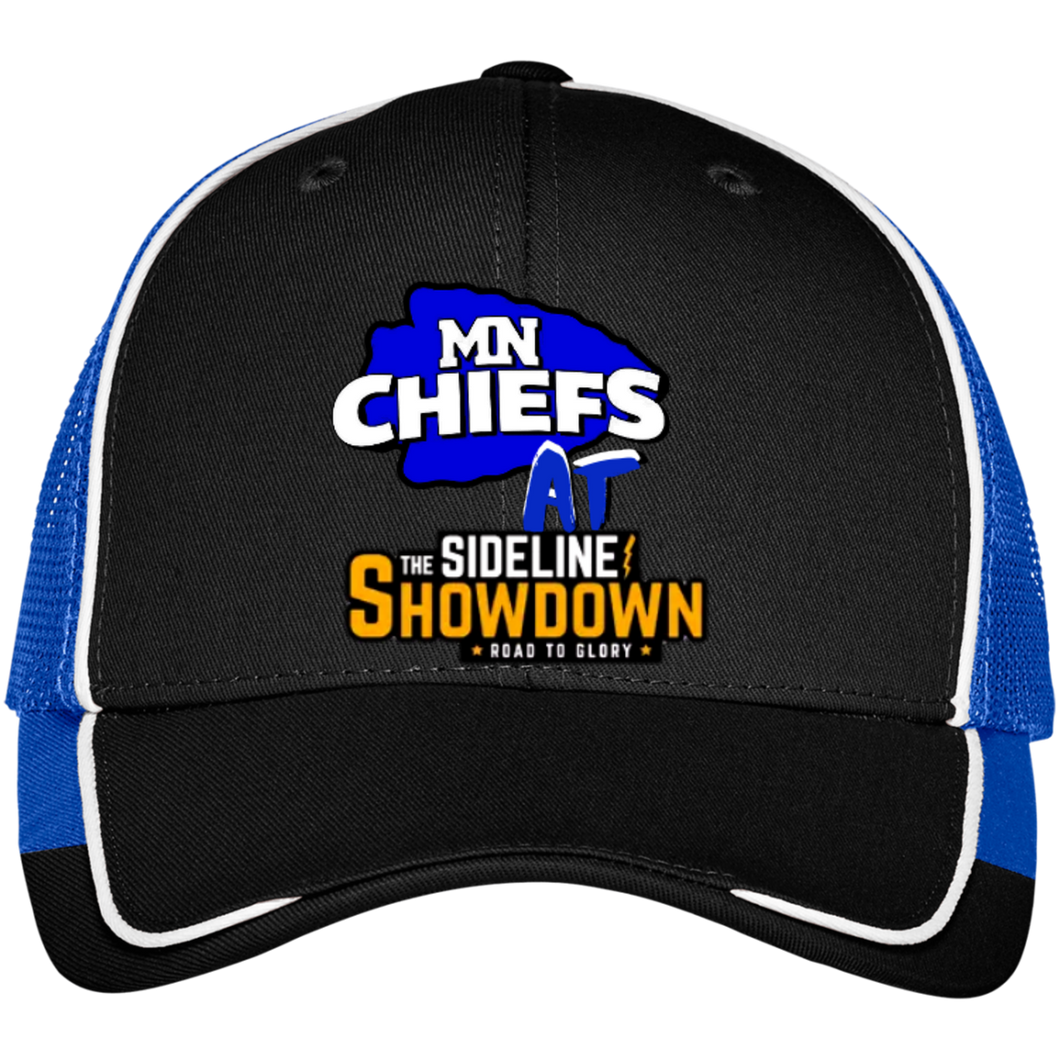 MN Chiefs at The Sideline Showdown Series Colorblock Mesh Back Cap