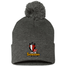 Load image into Gallery viewer, Manitoba Wildlings at The Sideline Showdown Series Pom Pom Knit Cap