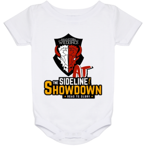 Manitoba Wildlings at The Sideline Showdown Series Baby Onesie 24 Month