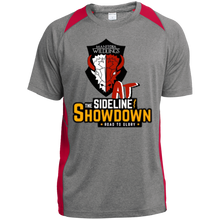 Load image into Gallery viewer, Manitoba Wildlings at The Sideline Showdown Series Youth Colorblock Performance T-Shirt