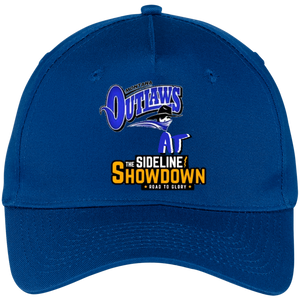 Montana Outlaws at The Sideline Showdown Series Five Panel Twill Cap
