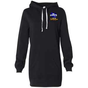 MN Chiefs at The Sideline Showdown Series Women's Hooded Pullover Dress