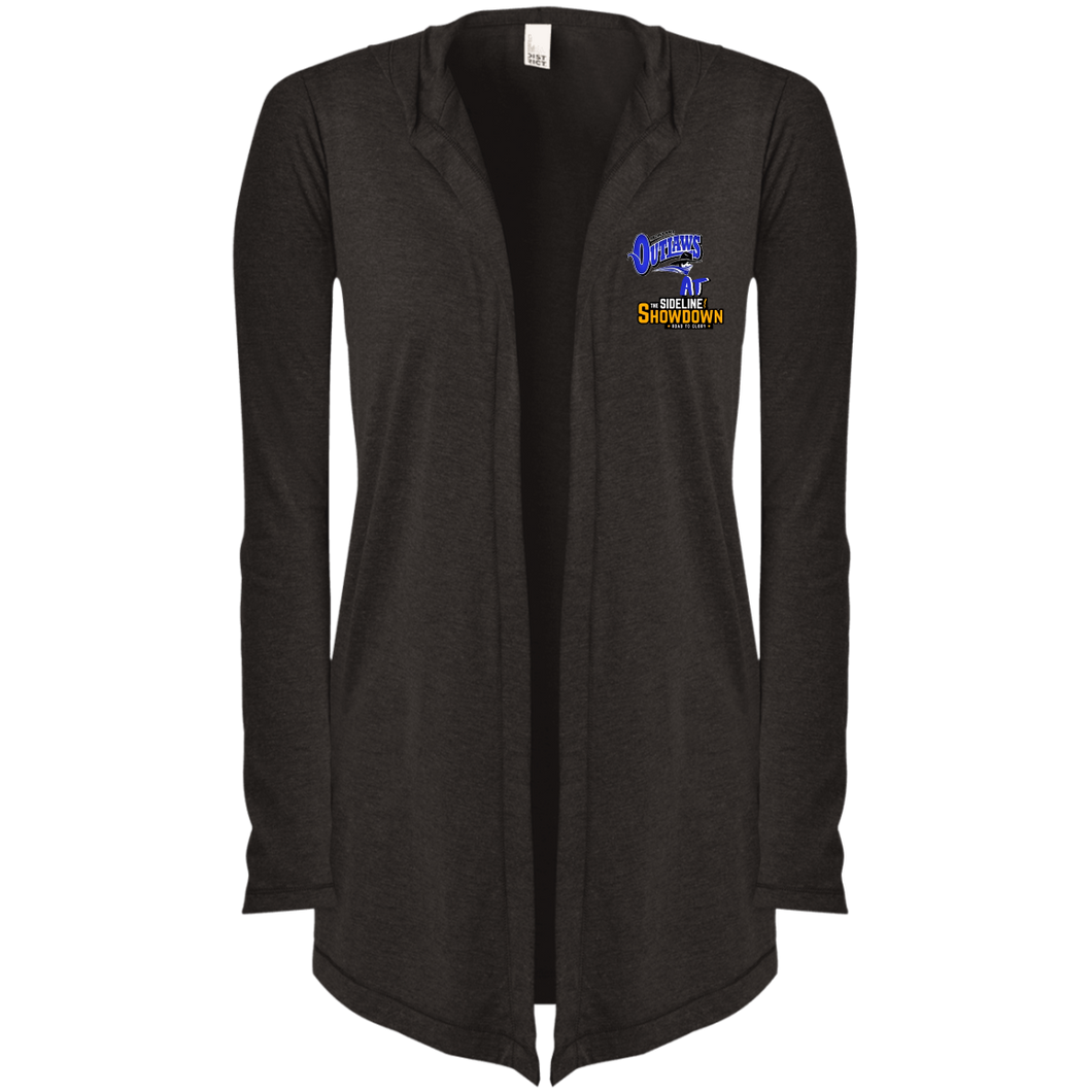 Montana Outlaws at The Sideline Showdown Series  Women's Hooded Cardigan