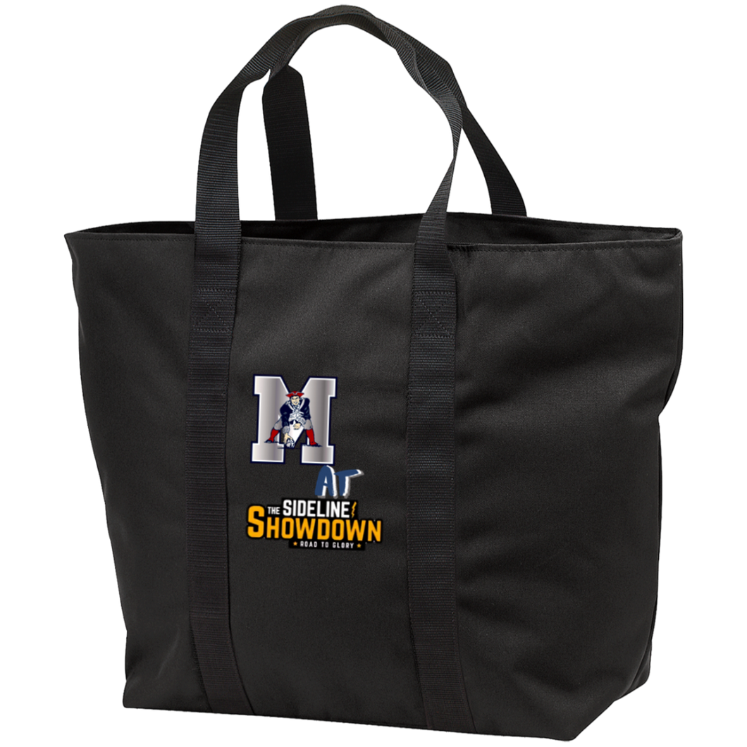 Omaha Patriots at The Sideline Showdown Series All Purpose Tote Bag