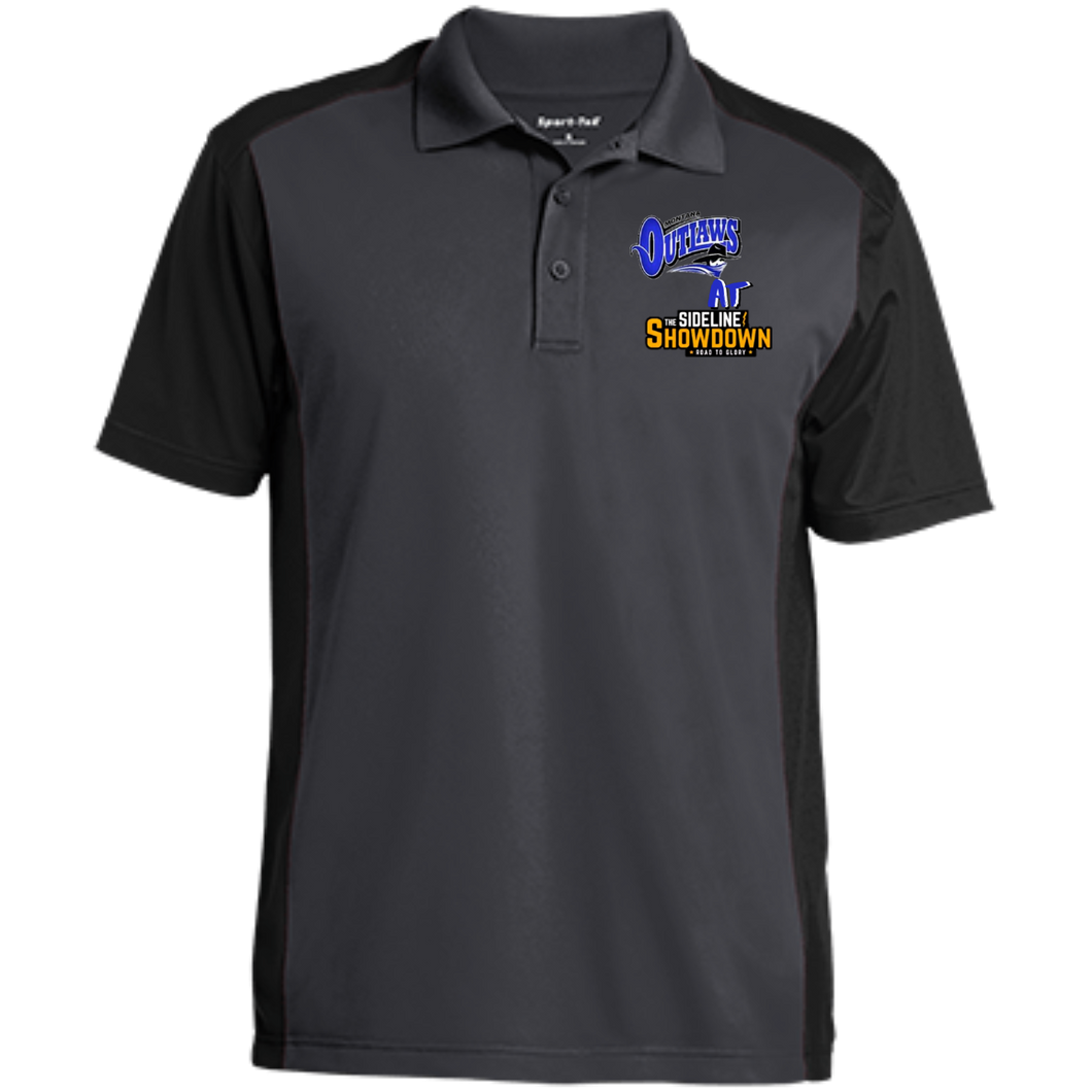 Montana Outlaws at The Sideline Showdown Series Men's Colorblock Sport-Wick Polo