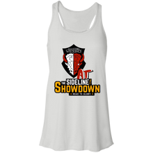 Load image into Gallery viewer, Manitoba Wildlings at The Sideline Showdown Series Flowy Racerback Tank