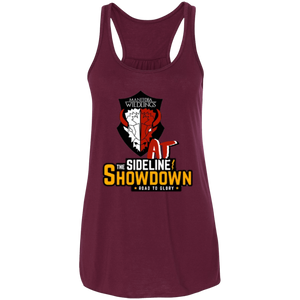 Manitoba Wildlings at The Sideline Showdown Series Flowy Racerback Tank