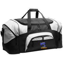 Load image into Gallery viewer, Montana Outlaws at The Sideline Showdown Series Colorblock Sport Duffel