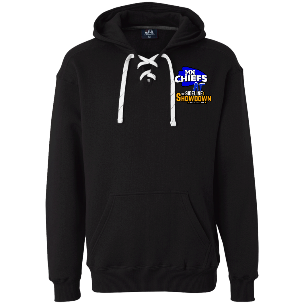 MN Chiefs at The Sideline Showdown Series Heavyweight Sport Lace Hoodie
