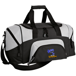 Montana Outlaws at The Sideline Showdown Series Small Colorblock Sport Duffel Bag