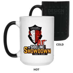Manitoba Wildlings at The Sideline Showdown Series oz. Color Changing Mug