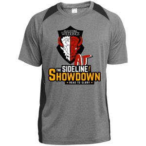 Manitoba Wildlings at The Sideline Showdown Series Youth Colorblock Performance T-Shirt